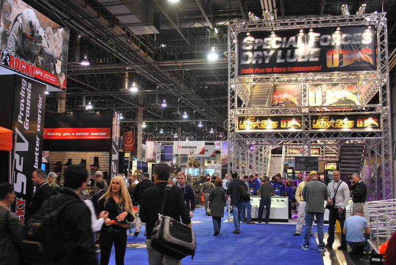 Download SHOT Show Las Vegas editorial stock image. Image of action - 13396869