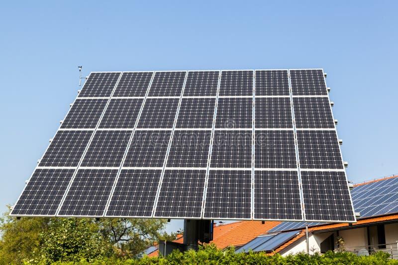 Solar panel. Shot of solar panel - close up royalty free stock photos