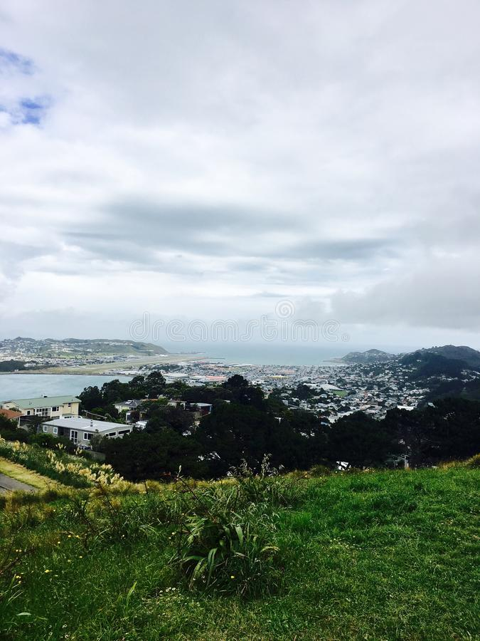 Shot from top of mount Victoria royalty free stock photography