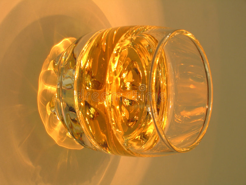 Shot Of Whiskey Royalty Free Stock Image