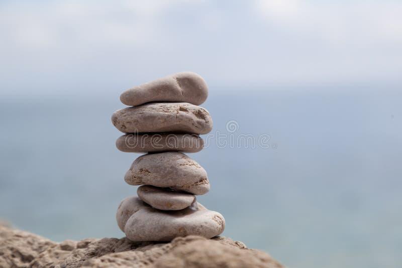 Zen Rocks Balance. Shot of zen rocks balanced stock images
