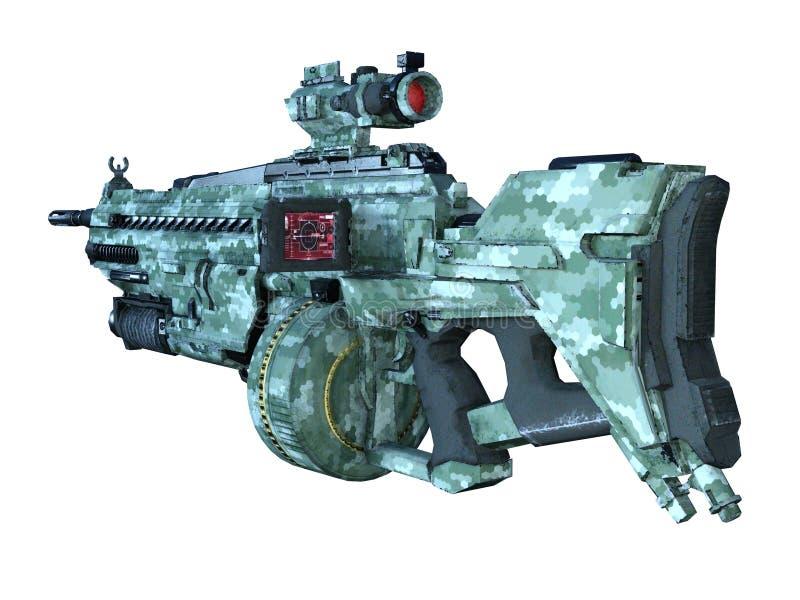 shotgun illustration de vecteur