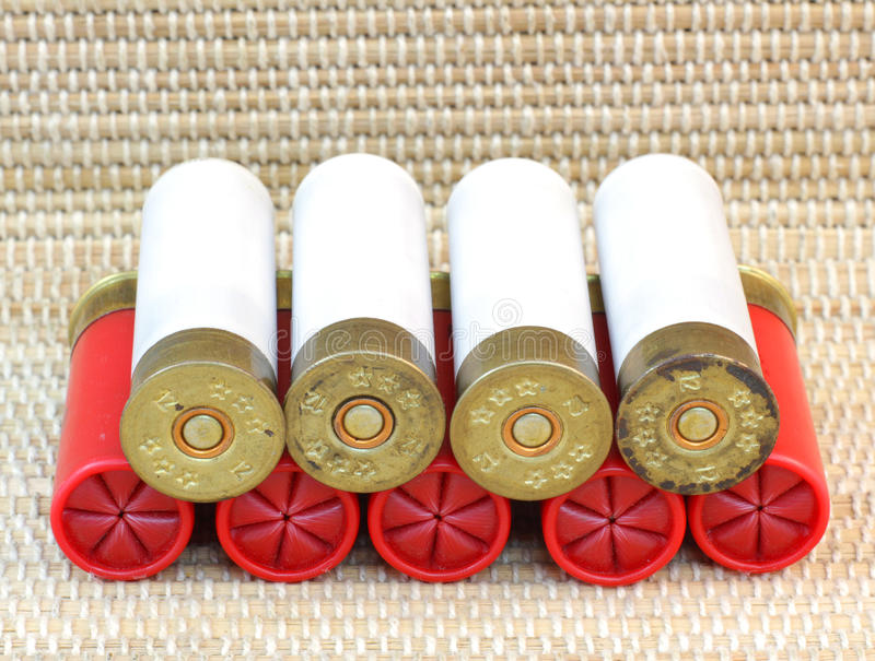 Download Shotgun Cartridges 11 And 12 Stock Photo - Image: 24281558