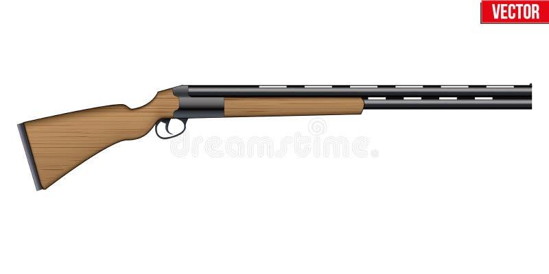 Shotgun Equipment for Shotgun Sport vektor illustrationer