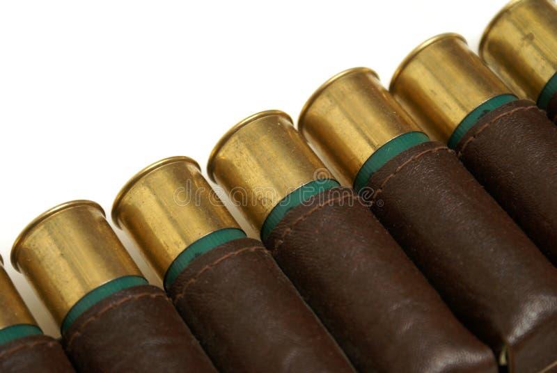 Shotgun Shell Bandoleer royalty free stock image