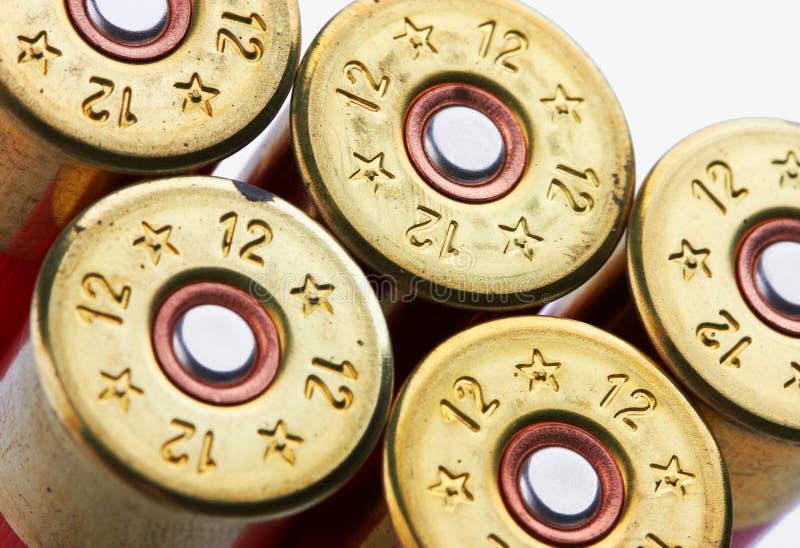 Shotgun shells stock photography