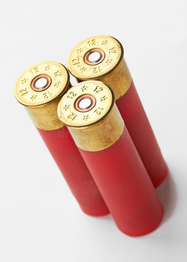 Shotgun shells royalty free stock photography