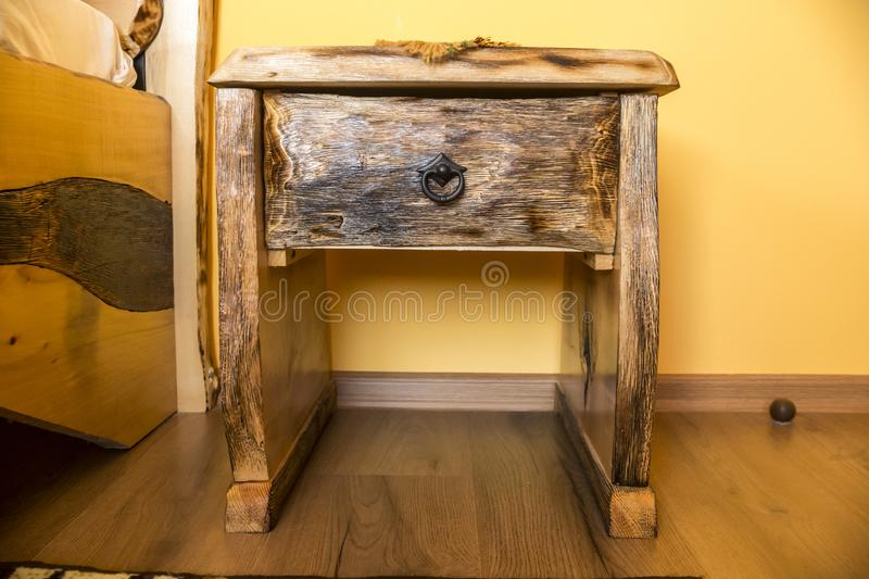 Download Shou Sugi Ban Wooden Furniture Stock Photo   Image Of Material,  Wall: 107894482