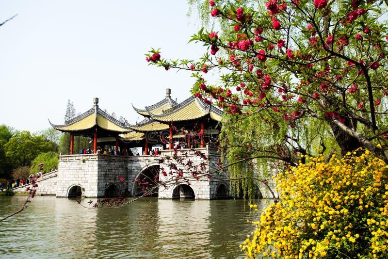 SHOU XI HU royaltyfria foton