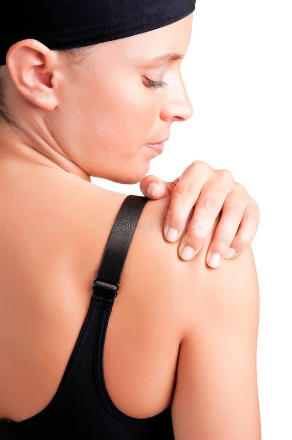 Download Shoulder Pain stock image. Image of backache, cramped - 25938183