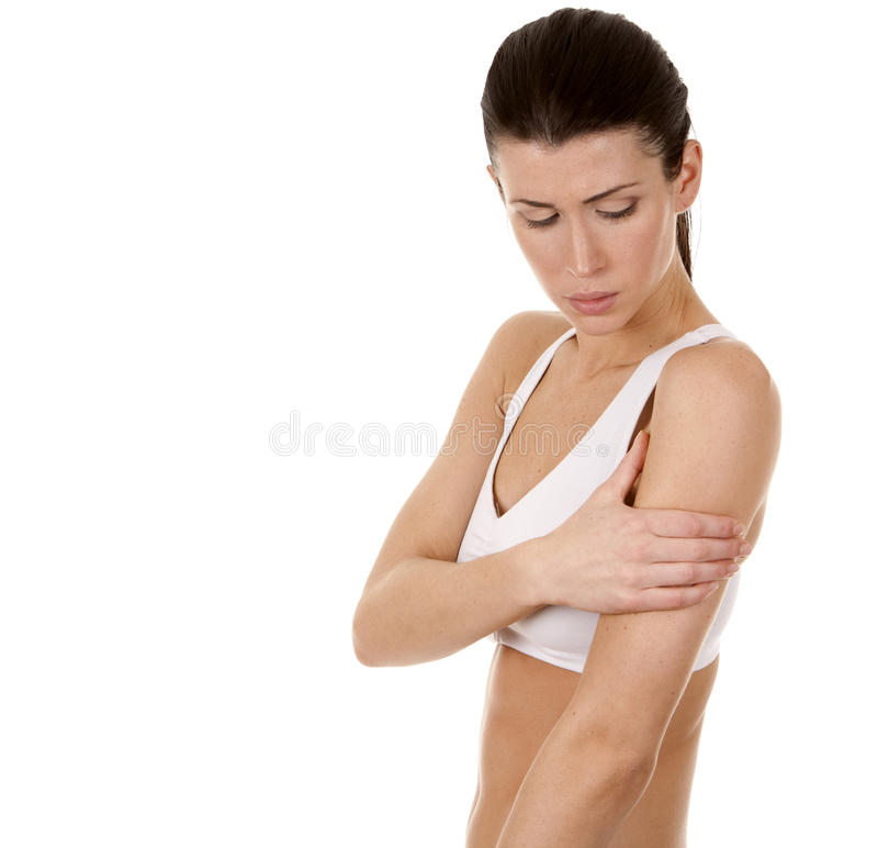 Shoulder Pain Royalty Free Stock Photography