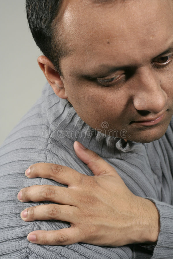 Shoulder pain stock photos