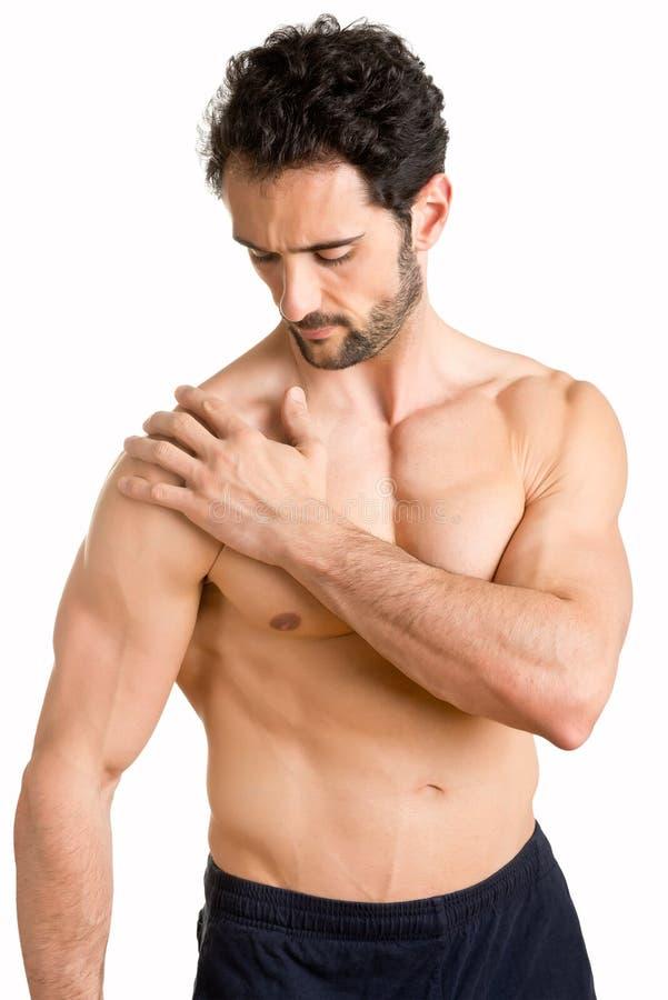 Download Shoulder Pain stock photo. Image of chiropractor, hand - 40060074