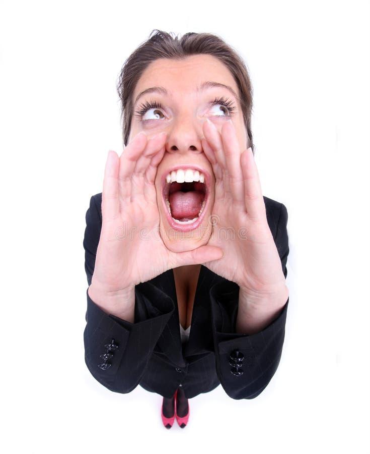 Download Shouting stock photo. Image of secret, quiet, exlamation - 20234542