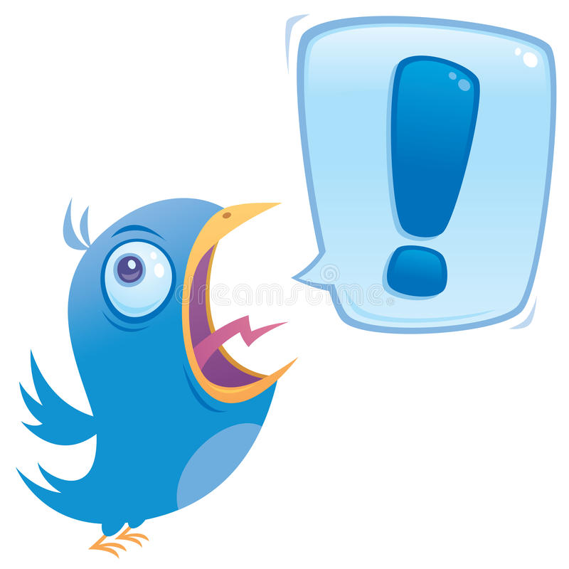 Shouting Bluebird stock images