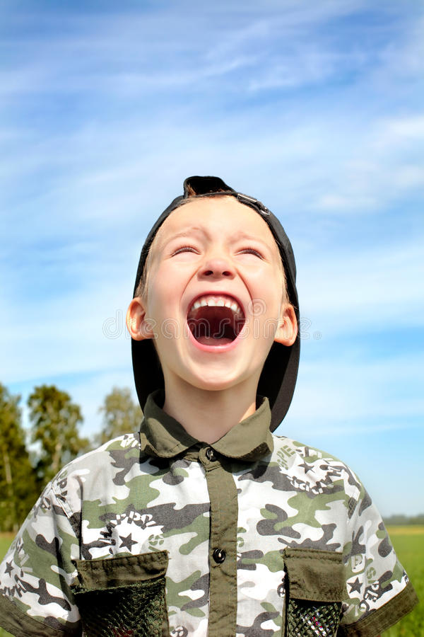 Download The shouting child stock photo. Image of attention, person - 10664298