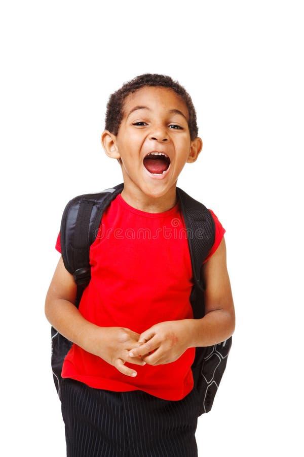 Shouting  Kid Stock Image
