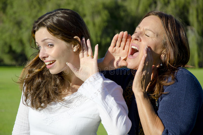 Download Shouting And Listening Between Two Generations Stock Image - Image: 25003037