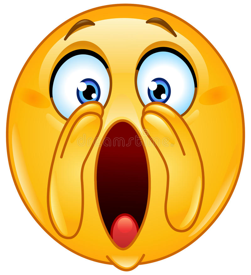 Free Shouting Loud Emoticon Royalty Free Stock Images - 38924109