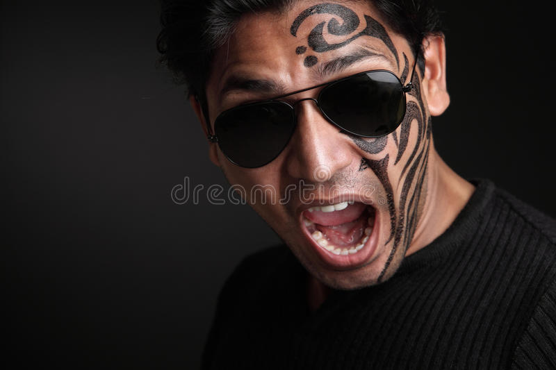 Download Shouting Young indian man stock image. Image of adult - 25264261