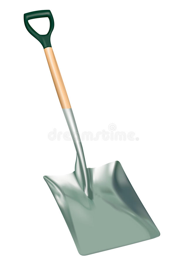 Shovel vector illustration