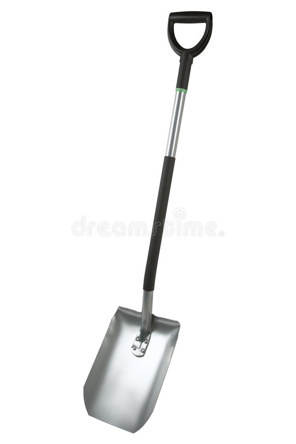 Shovel. Isolated on a white background