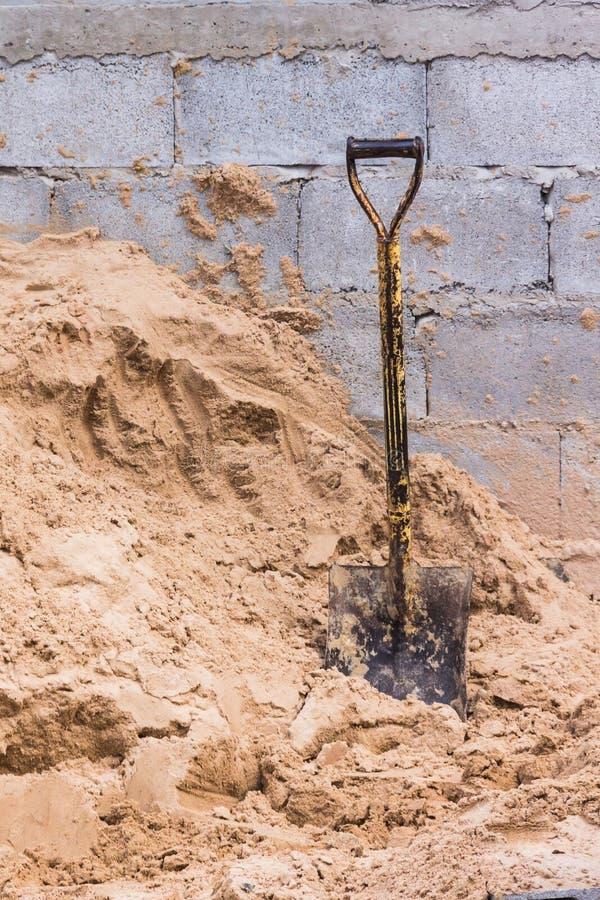 shovel fotos de stock royalty free