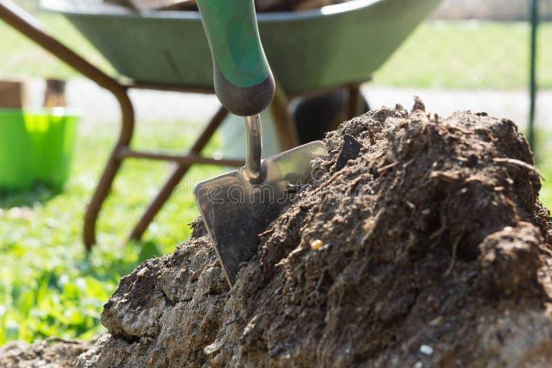 shovel fotografia de stock royalty free