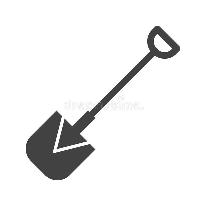 shovel ilustração do vetor