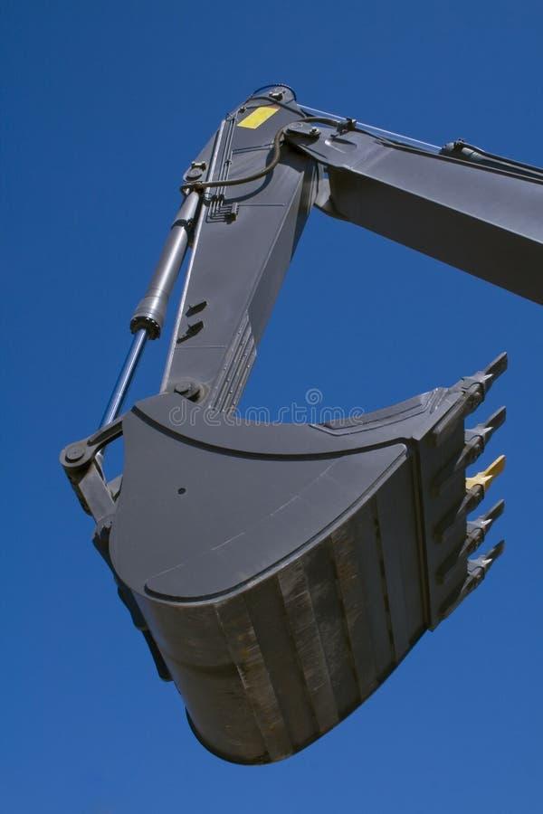 Shovel bucket stock photo