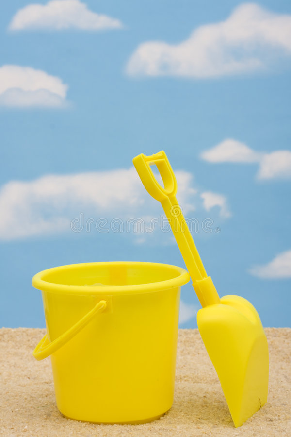 Download Shovel and Bucket stock image. Image of game, space, color - 6009203