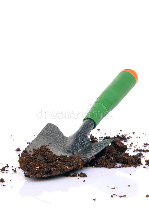 Download Shovel and soil stock photo. Image of brown, equipment - 5782896