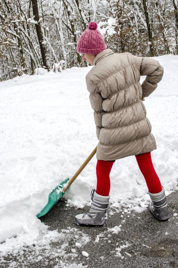 Download Shoveling snow stock photo. Image of shoveling, deep - 28124190
