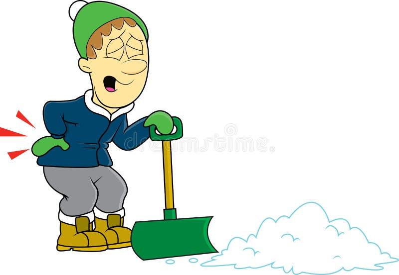 Download Shoveling snow stock vector. Image of alaska, cartoon - 83721909