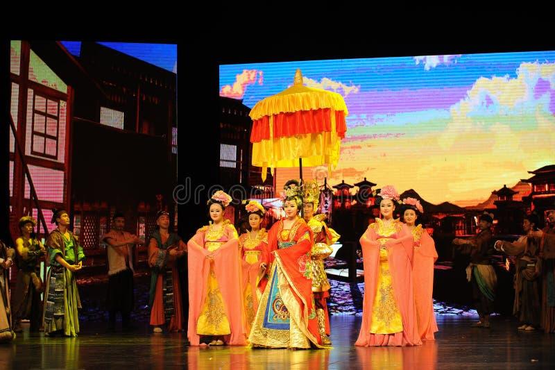  show†сценариев масштаба принцессы Wencheng-Больш тяни  legend†дороги стоковые фотографии rf
