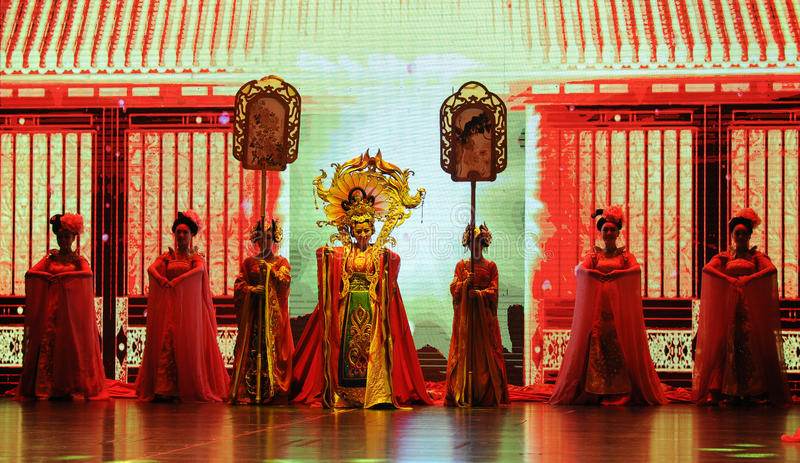  show†сценариев масштаба принцессы Wencheng-Больш  legend†дороги стоковое фото