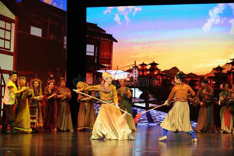  show†сценариев масштаба Wushu Конкуренци-большое  legend†дороги стоковые фотографии rf
