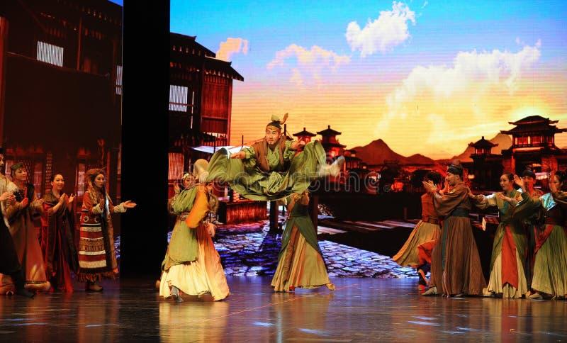  show†сценариев масштаба Wushu Конкуренци-большое  legend†дороги стоковые изображения
