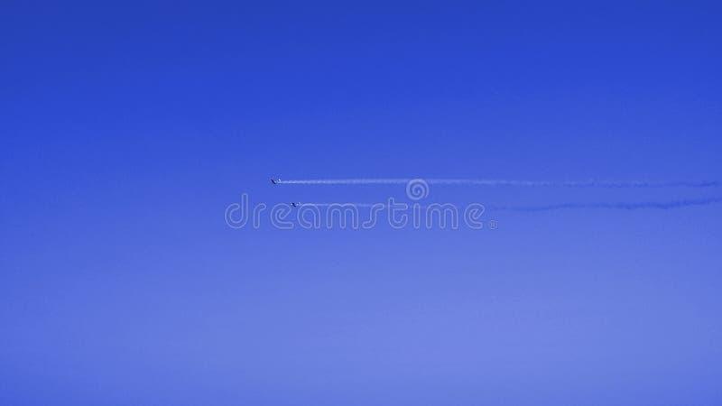 Show aereo fotografia stock libera da diritti