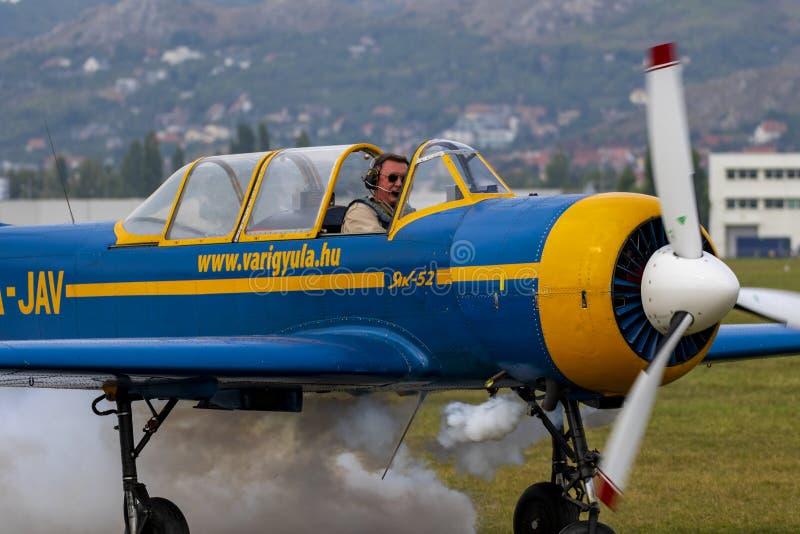 Show aereo con le azioni reali fotografie stock libere da diritti
