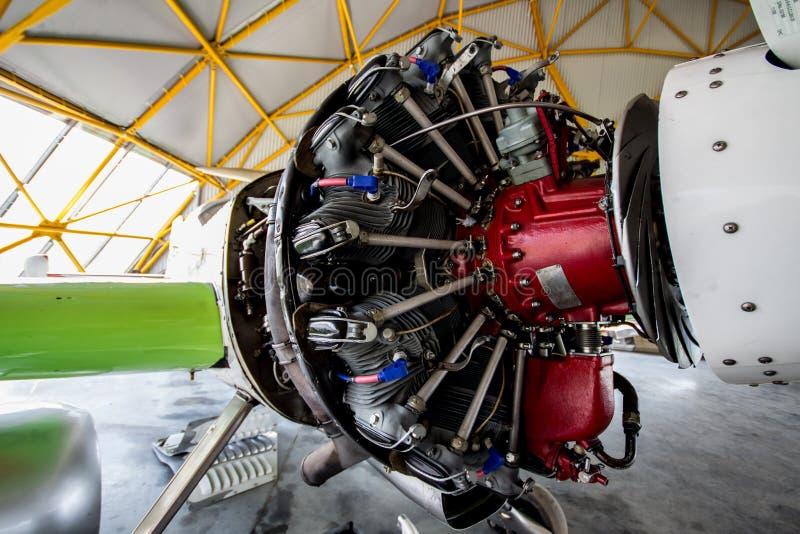 Show aereo del motore Sukhoi-Su31 fotografie stock