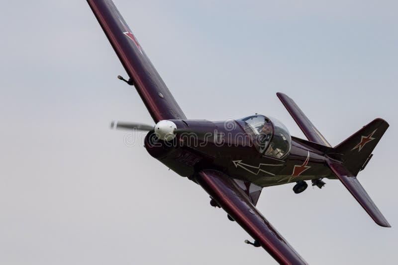Show aereo Hunagry 2018 fotografia stock libera da diritti