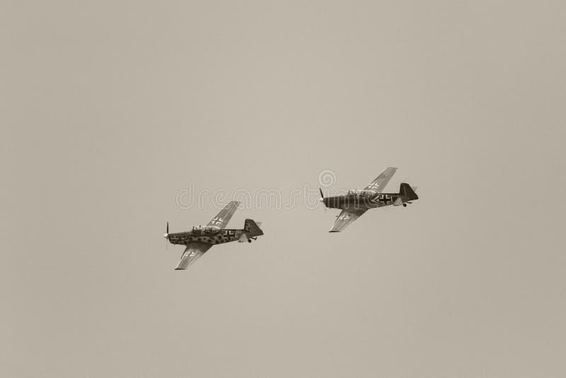 Show aereo Hunagry 2018 immagine stock libera da diritti