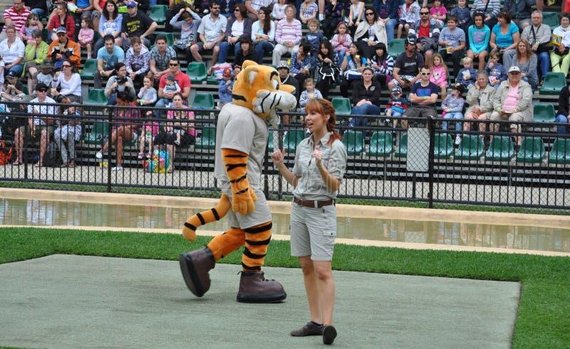 Show in Australia Zoo royalty free stock image