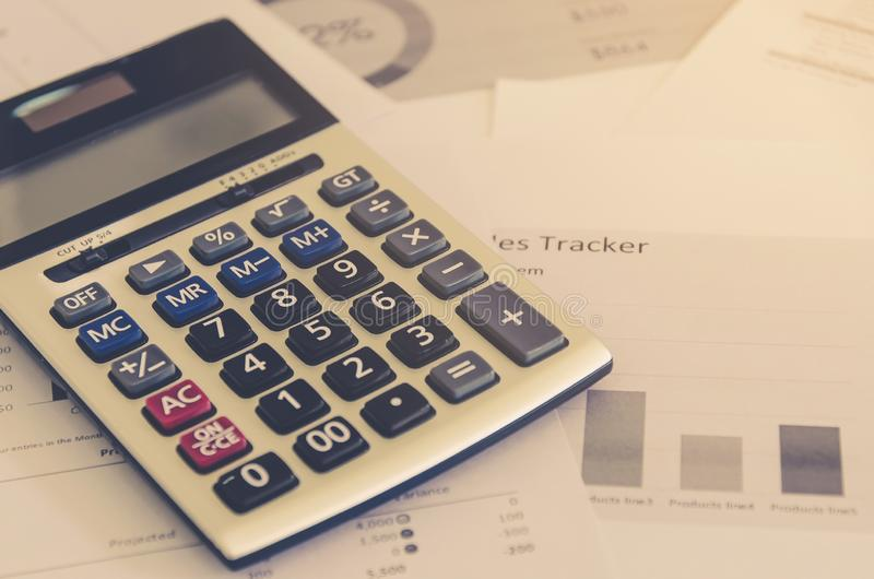 Business concept of financial and accounting with paper sheet of planning data. Show the business concept of financial and accounting, Finance report and stock photos