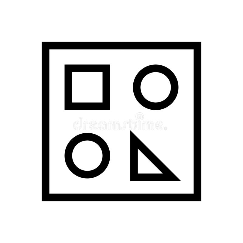 Show Draw Functions Document Icon. Vectorn vector illustration