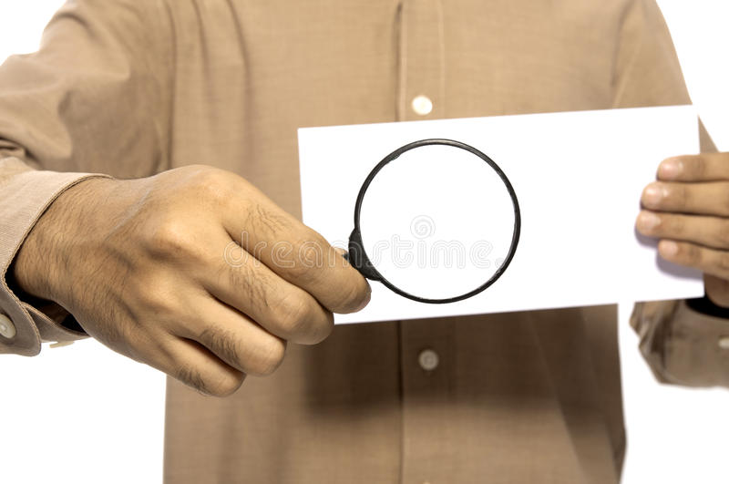 Show The Envelope royalty free stock photography