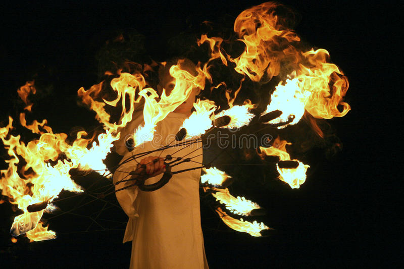 Download Show With Fire Editorial Photo - Image: 31881561