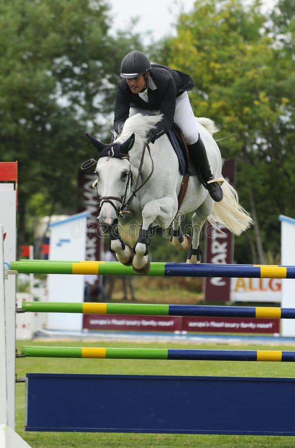 Download Show jumping editorial stock photo. Image of martinhal - 17160458