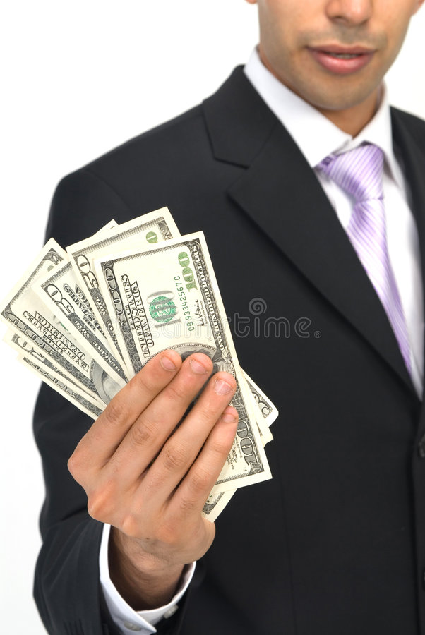 Show me the money royalty free stock photos